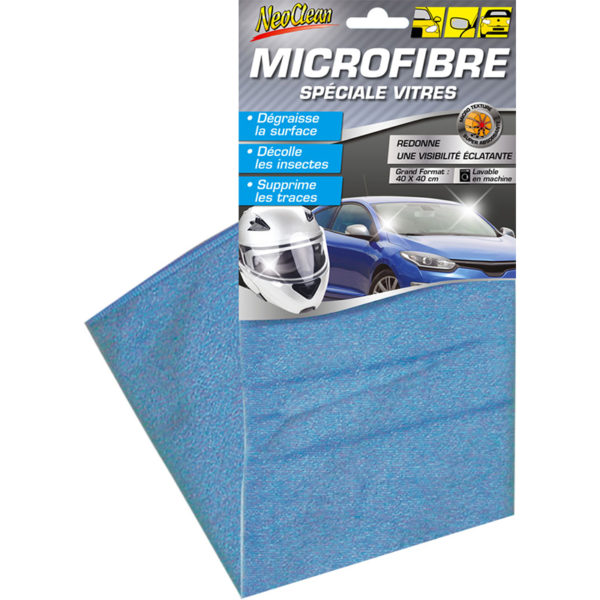 NEOCLEAN - Microfibre Vitres - 40x40cm