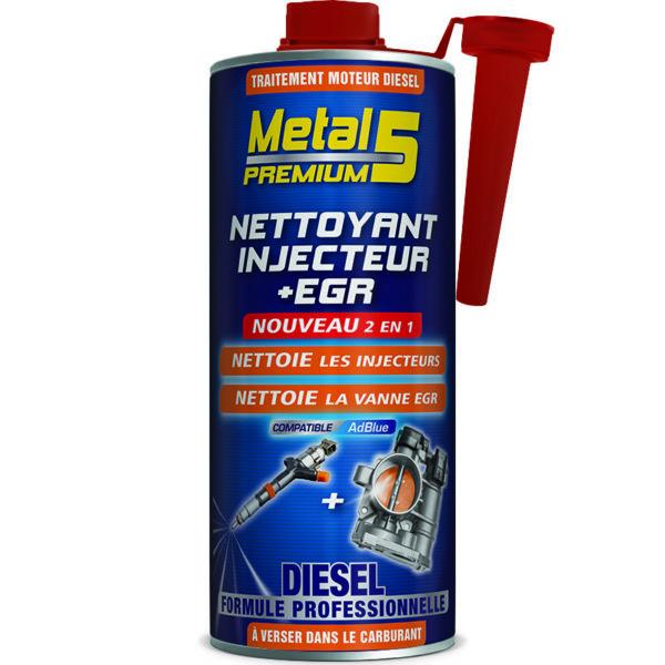 METAL 5 Premium - Nettoyant Injecteur + EGR Diesel - 1L
