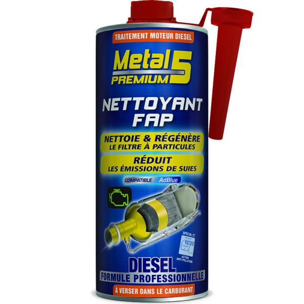 METAL 5 Premium - Nettoyant FAP Diesel - 1L