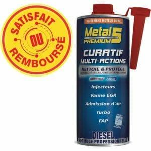 METAL 5 Premium - Curatif Multi-actions Diesel - 1L