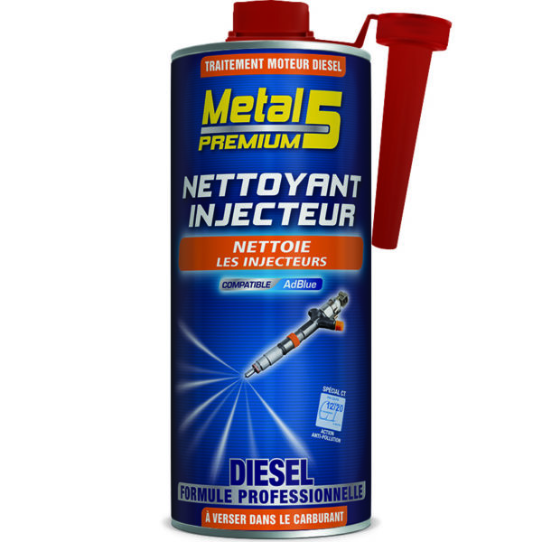 METAL 5 Premium - Nettoyant Injecteur Diesel - 1L