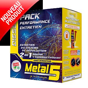Metal 5 - PACK PERFORMANCE ENTRETIEN DIESEL