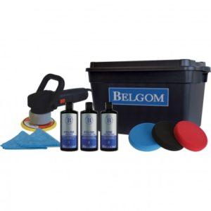 Belgom - Kit de rénovation peinture - Protection peinture + Lustreuse