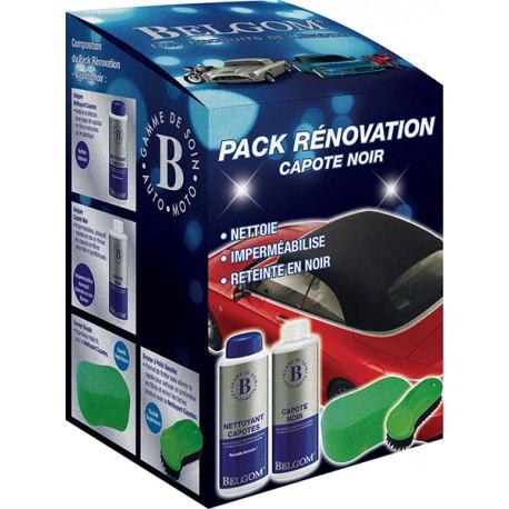 Belgom - Pack Rénovation Capote Noir