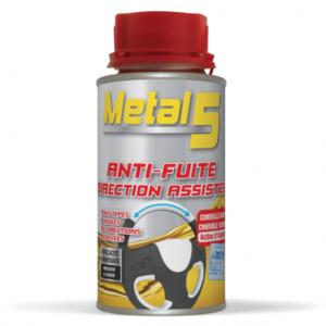 METAL 5 - Anti-fuite huile direction assistée - 100ml