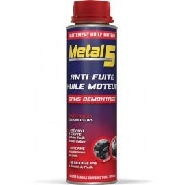 METAL 5 - Anti-fuite huile moteur - 300ml