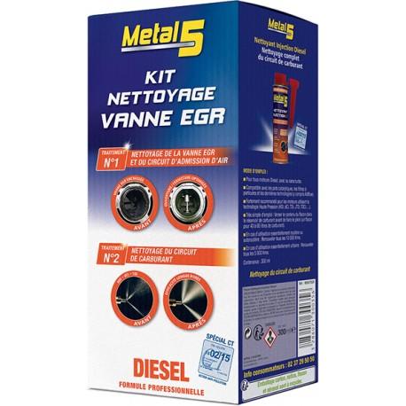 METAL 5 - Kit Nettoyage Vanne EGR