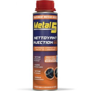 METAL 5 - Nettoyant injection Diesel - 300ml