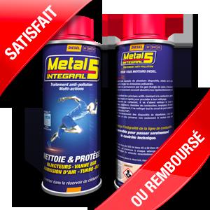 METAL 5 - INTEGRAL CURATIF Diesel (2 doses) - 2x500ml