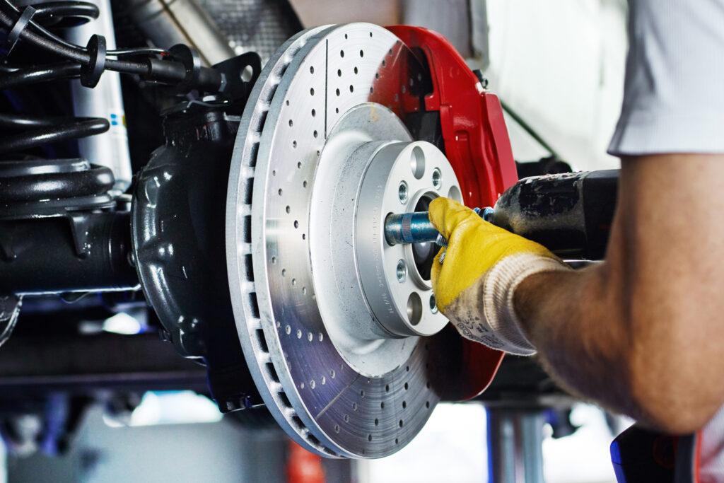 Entretien auto disque de frein